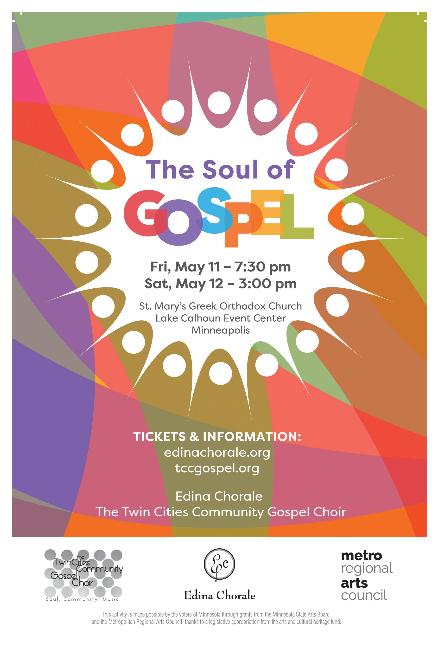 concert the soul of gospel 05 12 2018 acda mn
